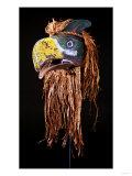 A Kwakiutl Thunderbird Mask, Red Cedar Giclee Print