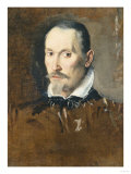 Study of the Head of a Bearded Man Giclee Print by Jan Brueghel the Elder