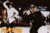 Pulp Fiction - Twist Contest (Travolta and Thurman) Movie Poster Posters