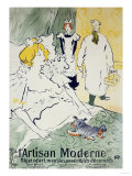 L'Artisan Moderne, 1896 Prints by Mary Cassatt