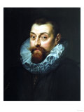 Portrait of a Man, Bust Length, in Dark Costume with White Ruff, 1597-99 Giclee Print by Joseph Bail