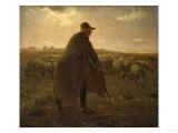 The Shepherd, Circa 1858-1862 Posters par Leon Bakst