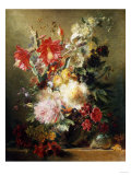 A Floral Still Life Giclee Print by Arnold Boonen