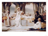 And They Lived Happily Ever After, 1894 Giclee Print by John Brett