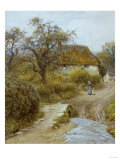 Hill Farm, Symondsbury, Dorset Giclee Print by Helen Allingham