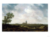 A View of Arnhem, 1633 Posters af Cristofano Allori