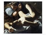 Saint Sebastian Succoured by Saint Irene Giclee Print by Cristofano Allori