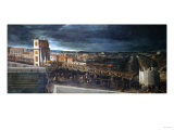 The Triumphal Entry of a Royal Procession into Mantua Print by Vincente Carducho