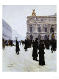 Outside the Opera, Paris, 1879 Prints by Jean Béraud
