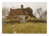 A Cottage at Pinner, Middlesex Posters by Helen Allingham