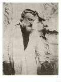 Portrait of Auguste Rodin,1905 Prints by Eugene Atget