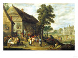A View of Rhenen, 1636 Giclee Print by Joseph Bail
