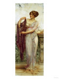 The Purple Scarf, 1913 Giclee Print by Cristofano Allori