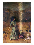 The Magic Circle Print by Sir Lawrence Alma-Tadema