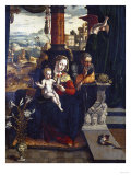 The Holy Family, in an Architectural Setting, a Landscape Beyond, 1532 Giclee Print by Jan Brueghel the Elder