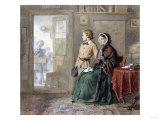 The New Boy, 1860 Art by John Brett