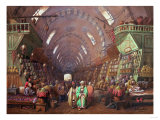 A Bazaar in Constantinople, 1873 Giclee Print by Sir William Beechey