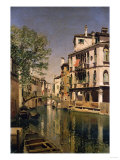 A Canal Scene in Venice Giclee Print by Cristofano Allori