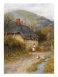 At Symondsbury Near Bridport, Dorset R.W.S. Prints by Helen Allingham