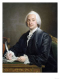 Portrait of Denis Paul Pot Le De La Fontaine, Half Length, 1772 Giclee Print by Giovanni Battista Benvenuti