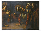 The Denial of St. Peter Giclee Print by Herri Met De Bles