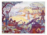 Time of Harmony, 1895-1896 Giclee Print by Signac Paul