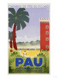 Pau, Circa 1930 Giclee Print by Leon Benigni