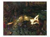 Titania Sleeps; a Midsummer Night's Dream Giclee Print by Frank Wright Bourdillon
