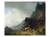 A Forge in the Bavarian Alps Posters by Sir William Beechey