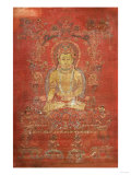 A Tibetan Thang.Ka Depicting Ratnashambhava, Early 14th Century Giclee Print