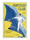 Martigny Club, 1912 Giclee Print by Leon Benigni