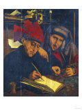 The Tax-Gatherers, Follower of Marinus Van Reymerswaele (C.1490-C.1567) Giclee Print by Frank Wright Bourdillon