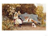 A Fairy Tale, 1895 Premium Giclee Print by John Brett
