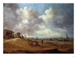 A View of Scheveningen, 1649 Print by Vincente Carducho