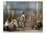 The Guardroom Giclee Print by Giovanni Battista Benvenuti