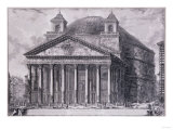 A View of the Pantheon, Rome, 1761-1768 Premium Giclee Print by John Corbet Anderson