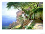 Amalfi Prints by Carl Frederic Aagaard