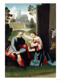 The Holy Family Giclee Print by Giovanni Battista Benvenuti