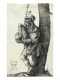 The Bagpiper, 1514 Posters by Frank Wright Bourdillon
