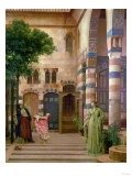Old Damascus: Jew's Quarter or Gathering Lemons, Circa 1873-1874 Print by Sir Lawrence Alma-Tadema