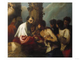 The Parable of the Labourers in the Vineyard Print by Cristofano Allori