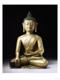 A Tibetan Bronze Figure of Buddha Sakyamuni, Late 13th Century Print