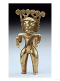 A Rare International Style Gold Figure of a Shaman, Circa A.D. 500, 1000 Giclee Print