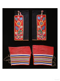 A Pair of Crow Beaded Cloth Woman's Leggings and a Pair of Ojibwa (Chippewa) Giclee Print