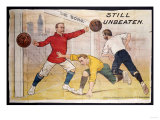 The Boro Still Unbeaten, Printed by Jordison & Co Ld, Middlesbrough Prints