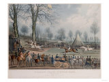 The St. Albans Grand Steeple Chase, March 8th 1832, the Winning Post, 1838 Giclee Print by John Corbet Anderson