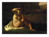 The Bather Giclee Print by Alfred Thompson Bricher