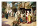 The Carpet Seller Giclee Print by Federico Ballesio