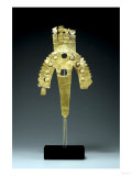 An Huari Gold Plume Ornament, South Coast, Circa A.D. 700, 1000 Posters