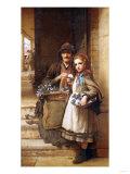 At the Market-Gate, Covent Garden, 1880 Posters by John Brett